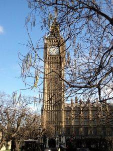 Londra'nın simgelerinden biri: Big Ben Saat Kulesi