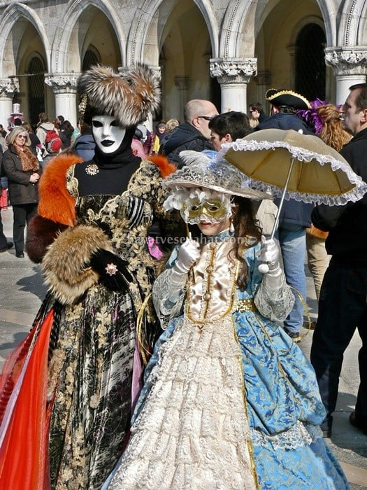 venedik maske festivali