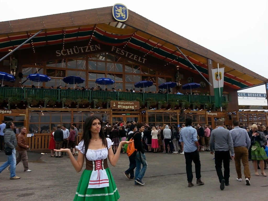 fotoğraflarla Oktoberfest