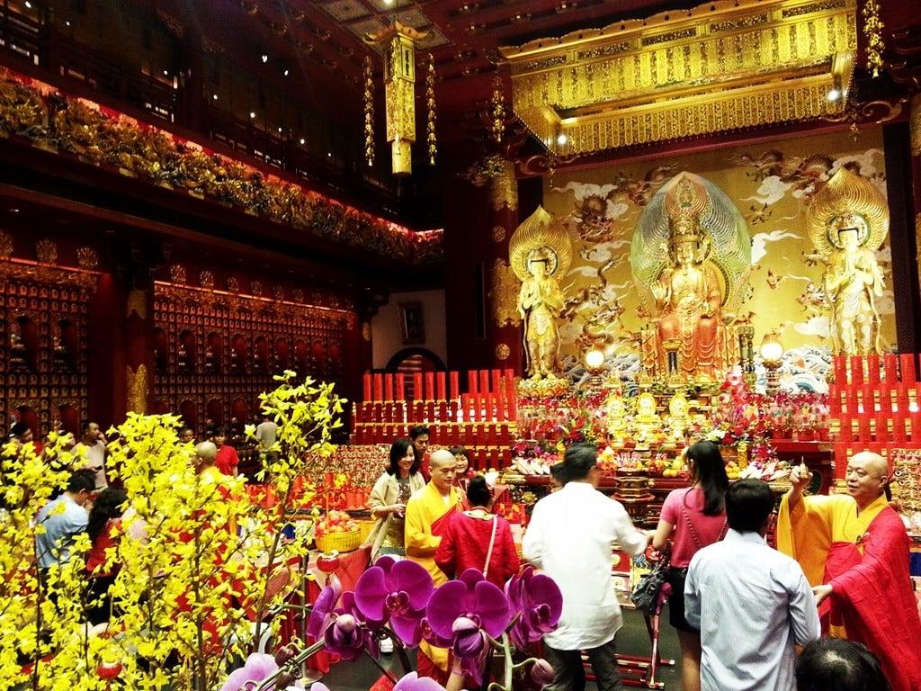 singapur'da budizm