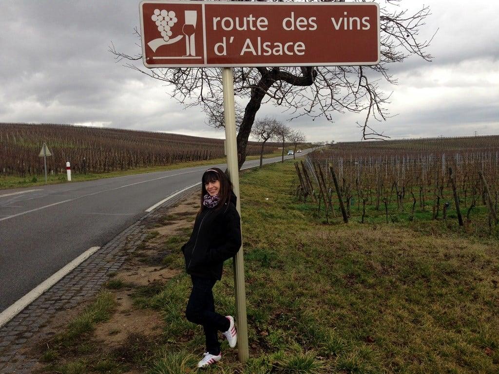 Fransa Şarap Yolu rotası