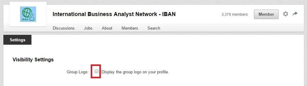linkedin profil ayarları