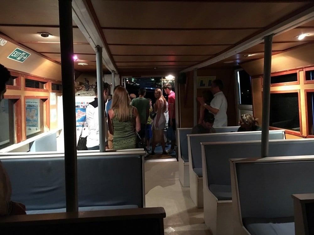 mykonos ulaşım feribot