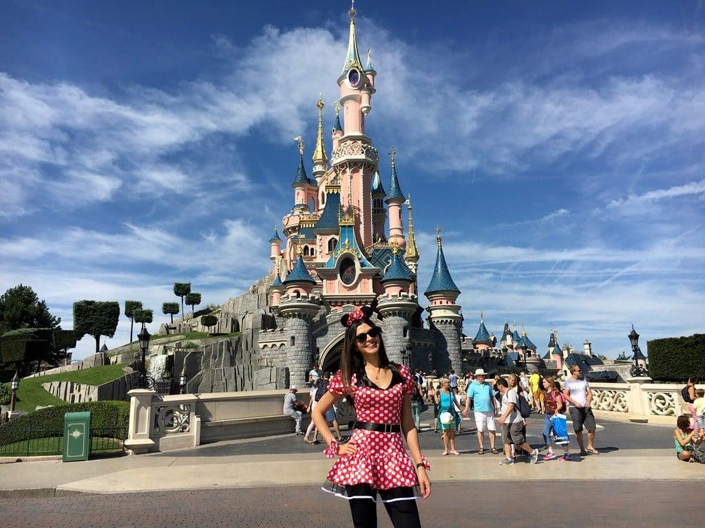 Disneyland Paris'e Minnie Mouse olarak gittim