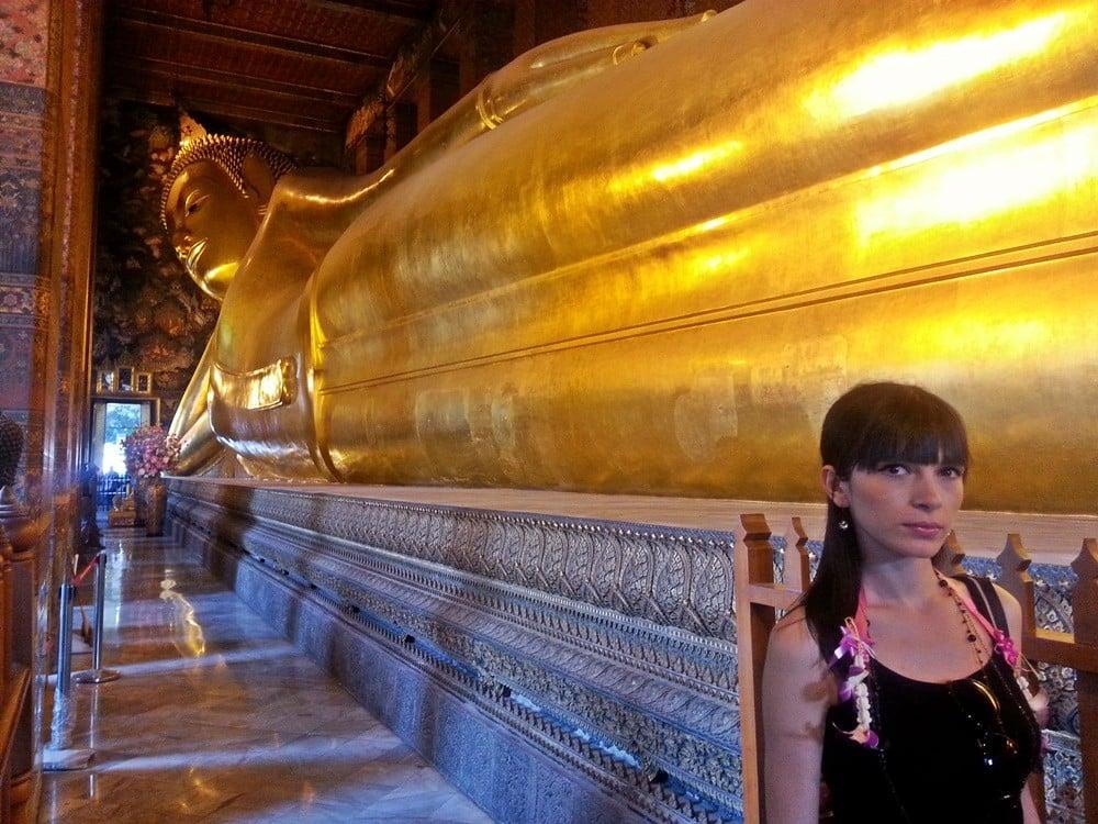 bangkok yatan buda heykeli