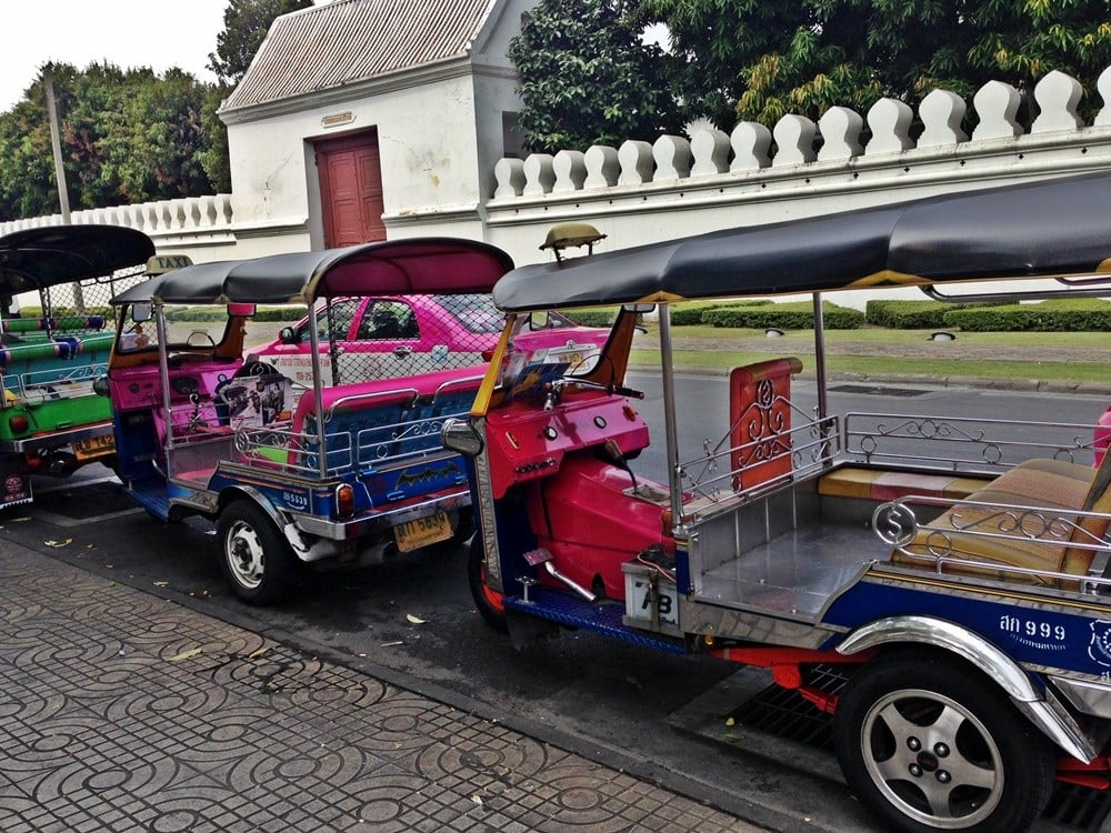 bangkokta ulaşım