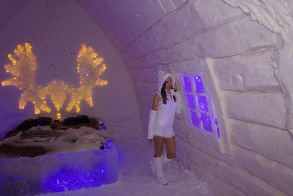 lapland buz otel