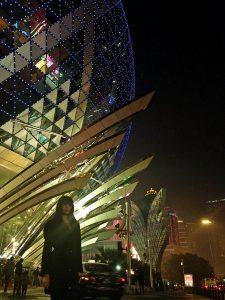 Macau'da akşam vakti