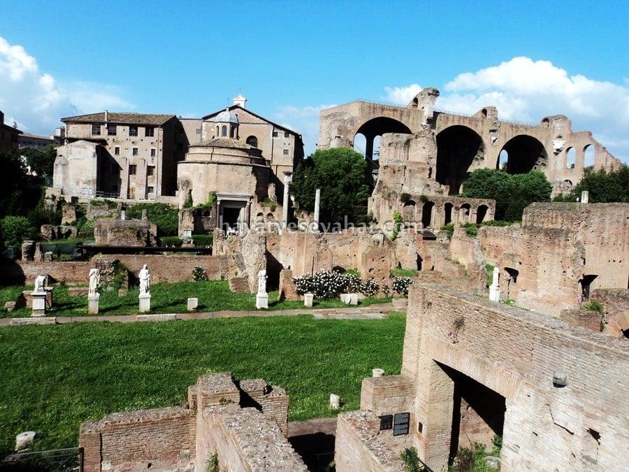 roma'da görülmesi gereken yerler