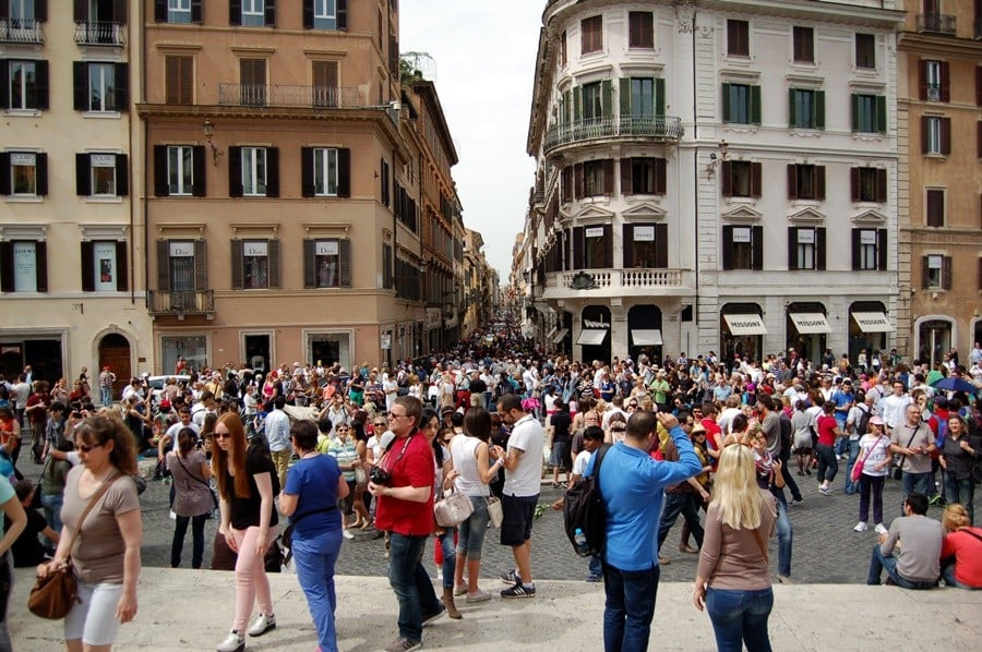 roma ispanyol meydanı