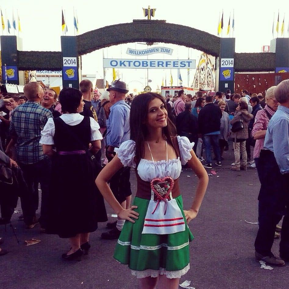 Münih - Oktoberfest kostüm