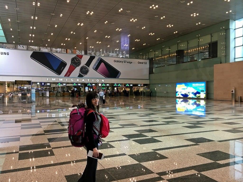 singapur havaalanı