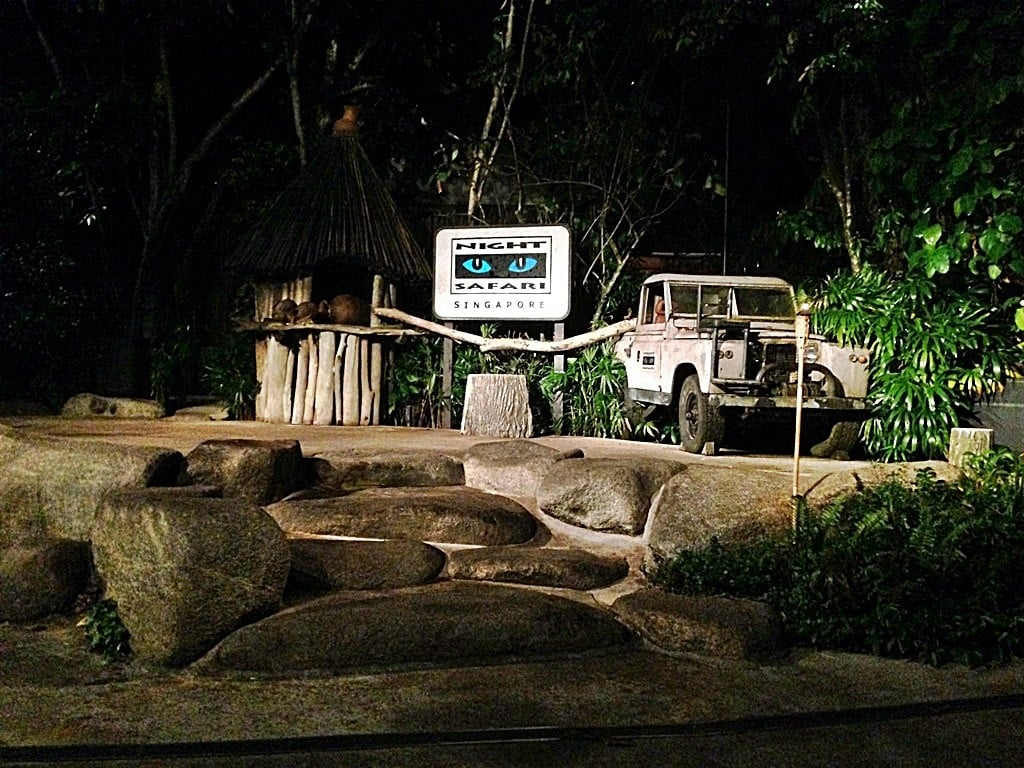 singapur night safari