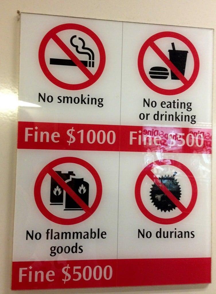 singapur yasakları