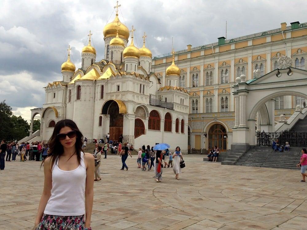 Kremlin Sarayı - Moskova
