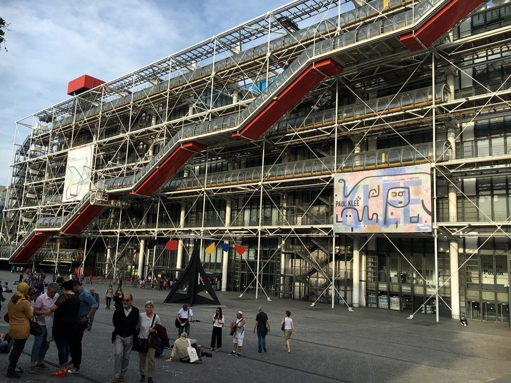 paris pompidou kültür merkezi