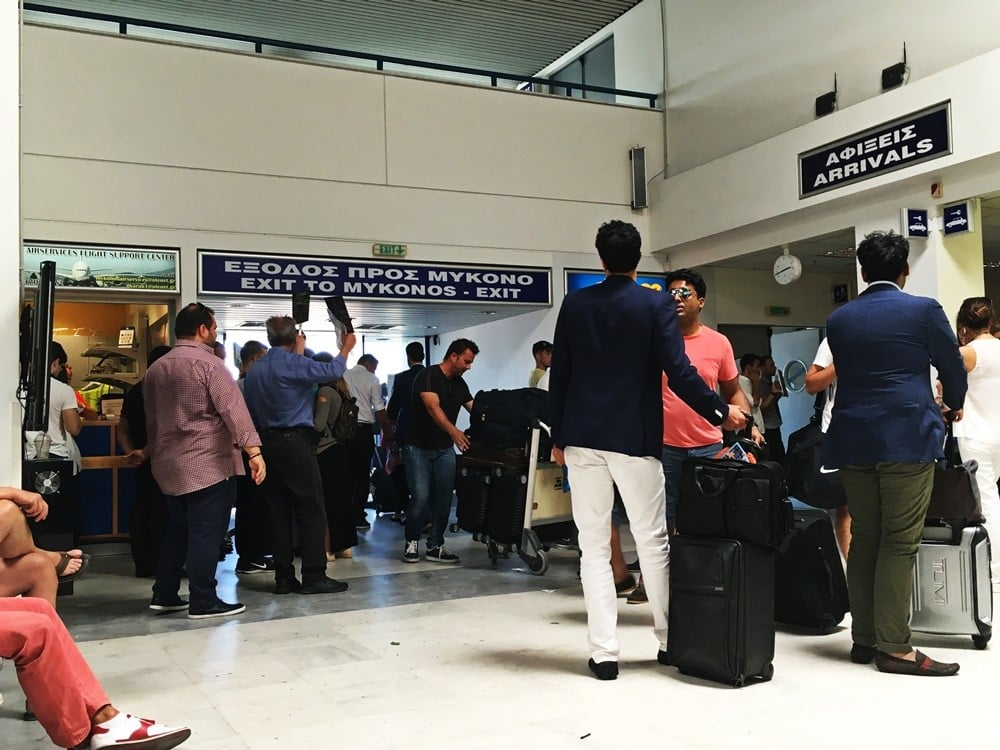 mykonos havaalanı