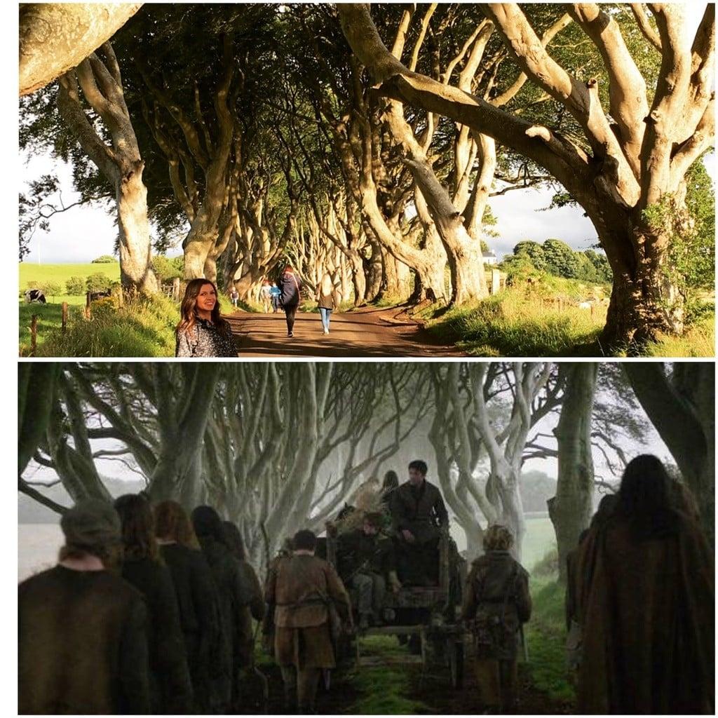 Kuzey İrlanda'da Games of Thrones dizisinin çekildiği yerleri gezdim (Alttaki resim karşılaştırma amaçlı internetten alıntıdır).