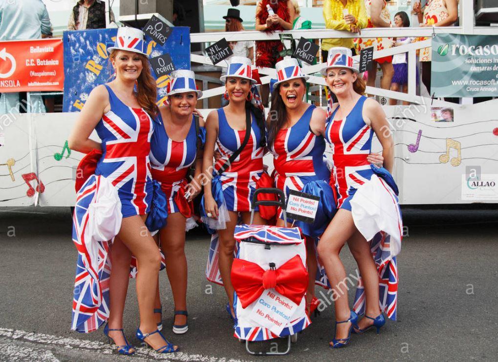 Avrupalı Kadınlar İngiliz kızları nasıl