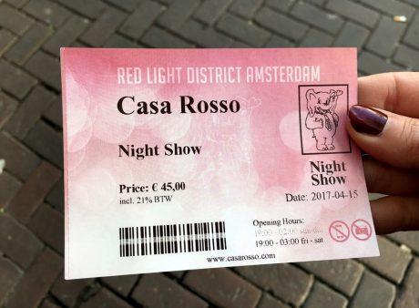 amsterdam canlı tiyatro fiyat