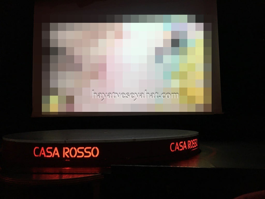 amsterdam canlı tiyatro Casa Rosso
