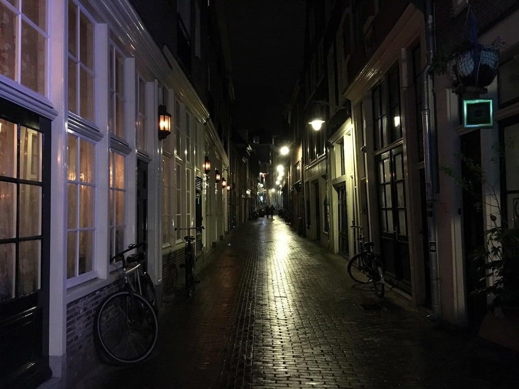 Amsterdam geceleri