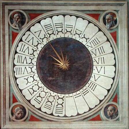 paolo uccello clock