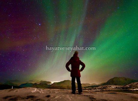 kuzey ışıkları norveç tromso