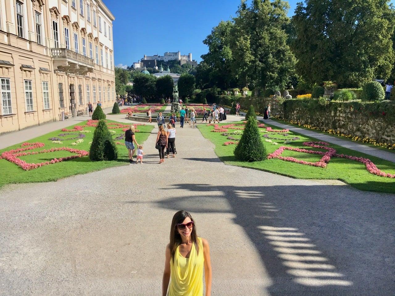 salzburg mirabell sarayı