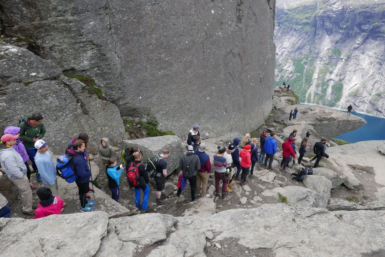 norveç trolltunga tırmanışı