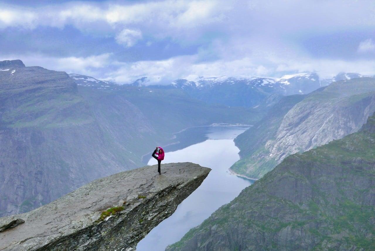 trolltunga norveç gezisi