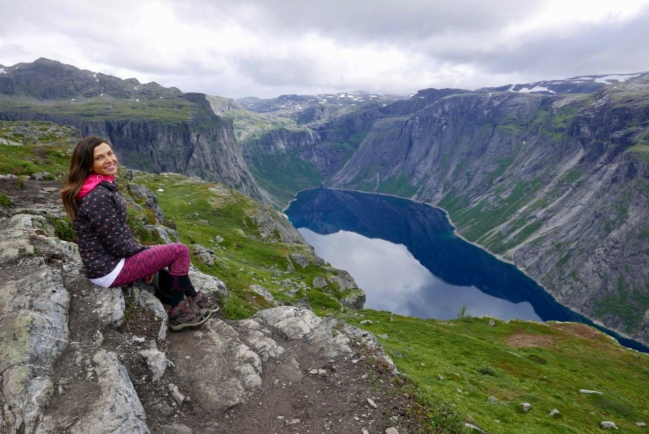 norveç trolltunga manzaraları