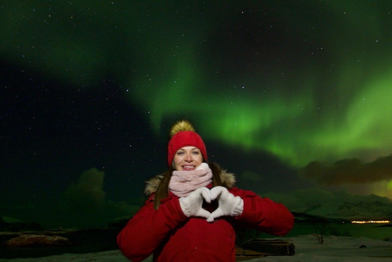 kuzey ışıkları tromso