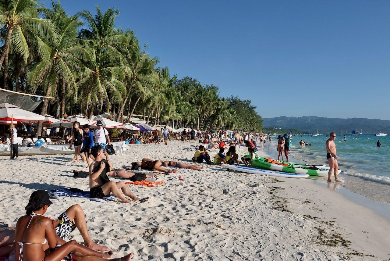 boracay plajları