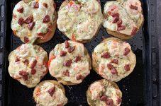 Mayasız Fit Mini Pizza Tarifi