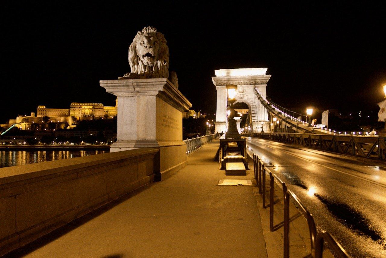 budapeşte zincir köprüsü