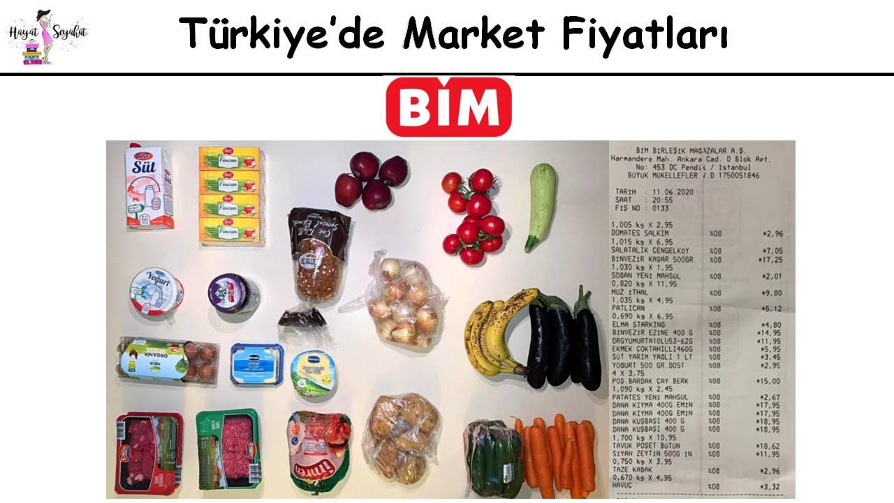 Aldi Bim market fiyatları kaşılaştırması