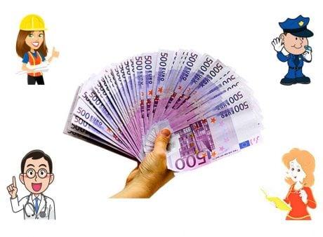 Almanyada maaşlar 2020